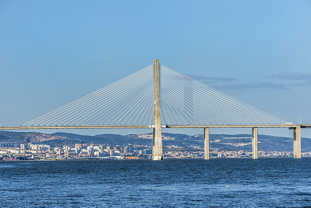 Vasco de Gama Bridge, Lisbon, Portugal, Europe