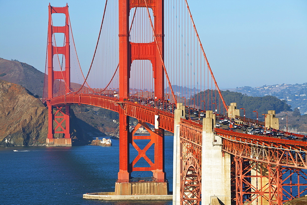 Golden Gate Bridge, San Francisco, California, United States of America, North America - 1132-122