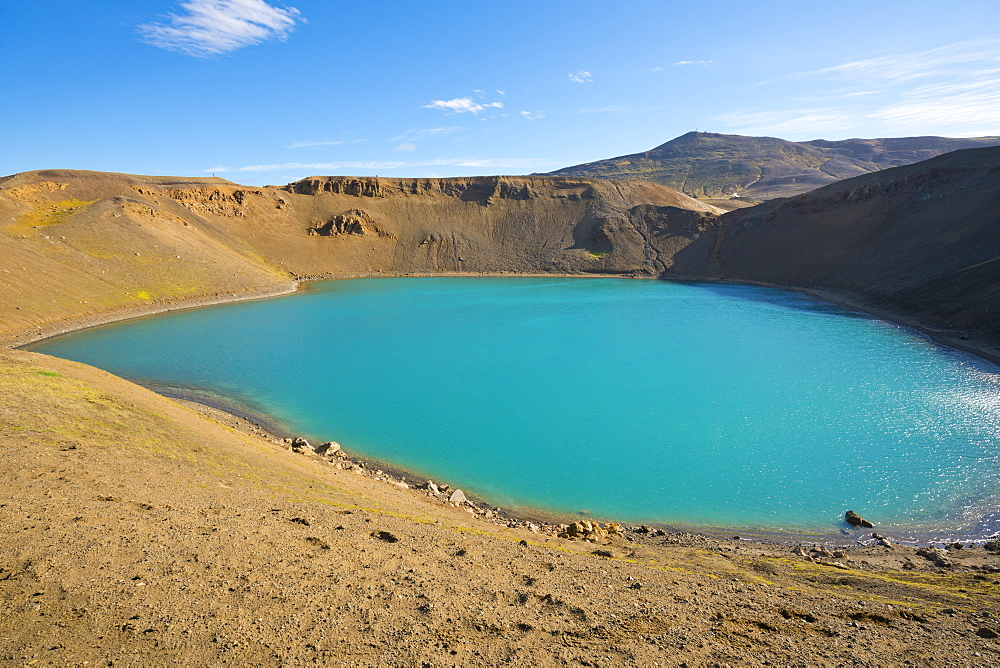 Viti Crater, Krafla, Iceland, Polar Regions