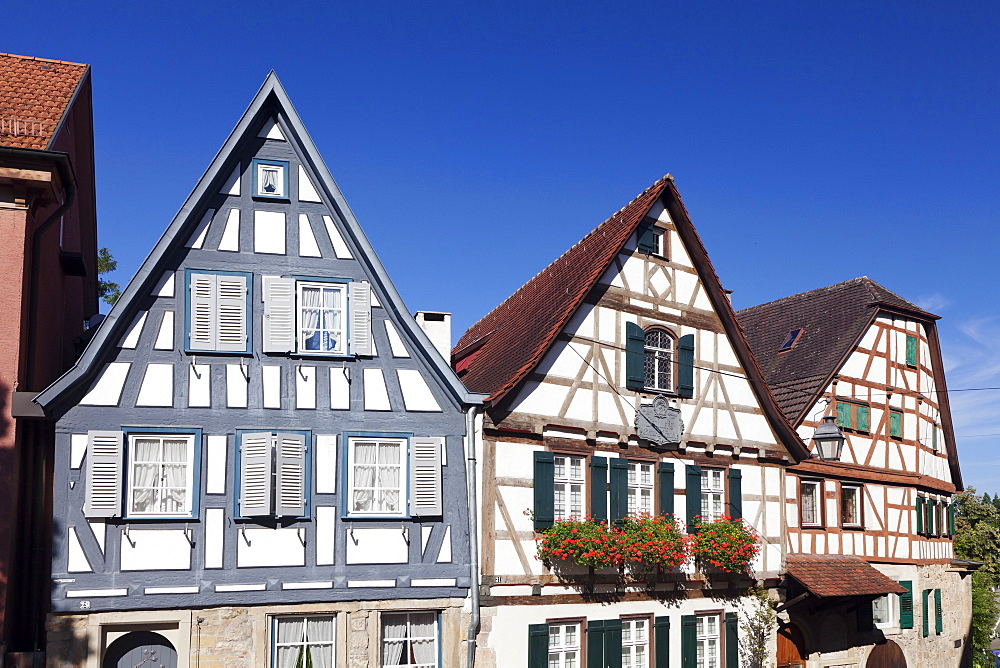 Birthplace of Friedrich Schiller, Marbach am Neckar, Neckartal Valley, Ludwigsburg District, Baden Wurttemberg, Germany, Europe