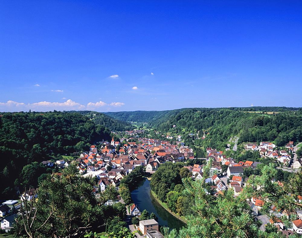 Sulz am Neckar, Neckartal Valley, Baden Wurttemberg, Germany, Europe