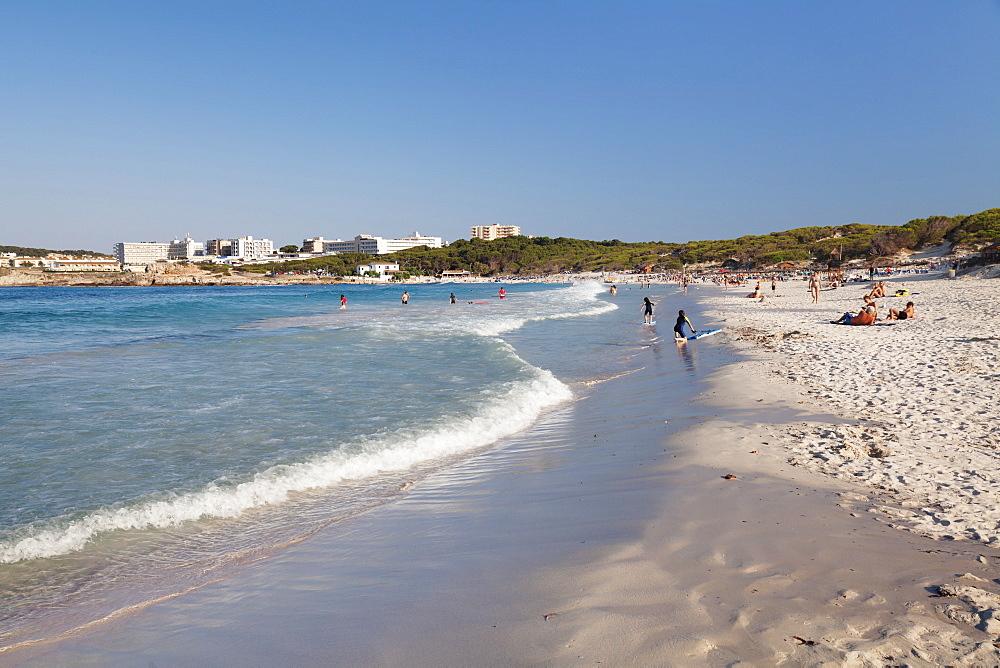 Beach, Cala Agulla, Cala Ratjada, Majorca (Mallorca), Balearic Islands (Islas Baleares), Spain, Mediterranean, Europe