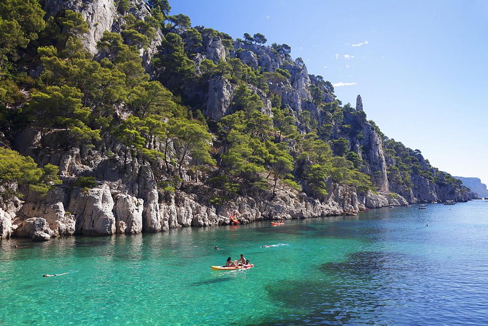 Les Calanques d'en Vau, National Park, Cassis, Provence, Provence-Alpes-Cote d'Azur, Southern France, France, Mediterranean, Europe