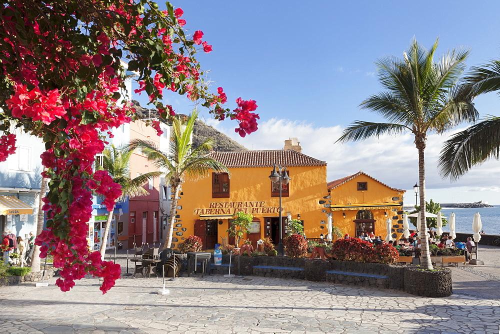 Restaurant Taberna del Puerto, Puerto de Tazacorte, La Palma, Canary Islands, Spain, Europe