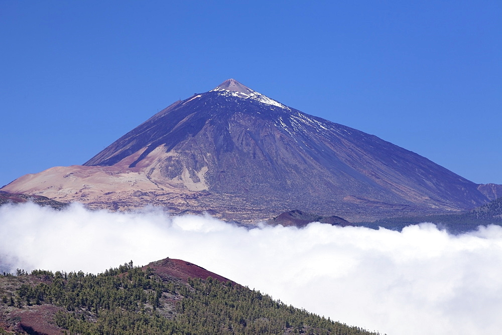 Pico del Teide, National Park Teide, UNESCO World Heritage Natural Site, Tenerife, Canary Islands, Spain, Europe