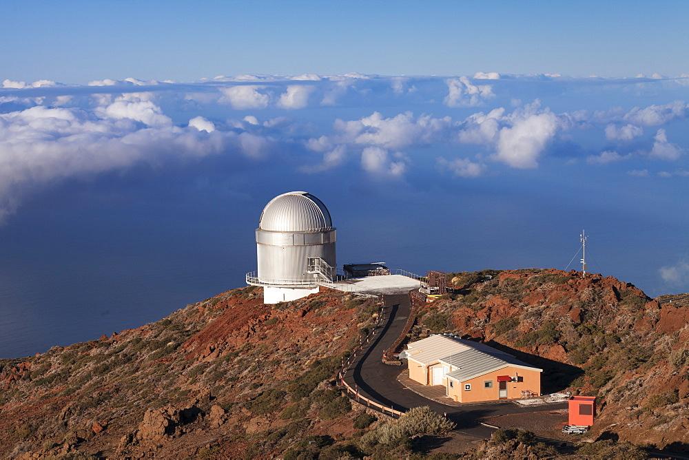 Observatory Gran Telescopio Canarias, Roque de los Muchachos, Parque Nacional de la Caldera de Taburiente, La Palma, Canary Islands, Spain, Europe