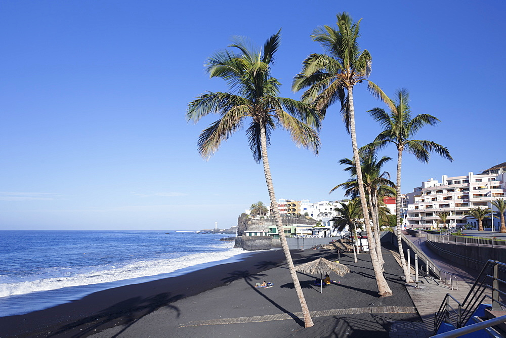 Beach of Puerto Naos, La Palma, Canary Islands, Spain, Atlantic, Europe