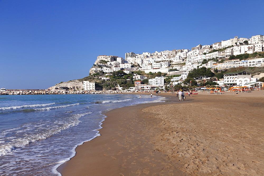 Spiaggia di Jalillo beach, Peschici, Gargano, Foggia Province, Puglia, Italy, Europe