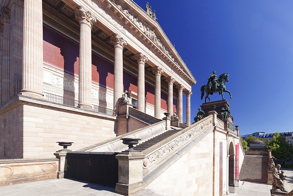 Alte Nationalgalerie (Old National Gallery), Museum Island, UNESCO World Heritge Site, Mitte, Berlin, Germany, Europe