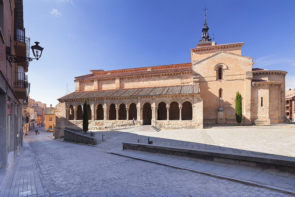Iglesia de San Millan church, Segovia, Castillia y Leon, Spain, Europe