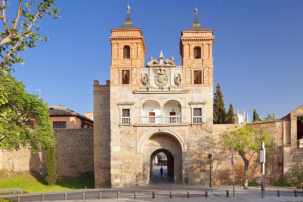 Puerta del Cambron, Cambron Gate, Toledo, Castilla-La-Mancha, Spain