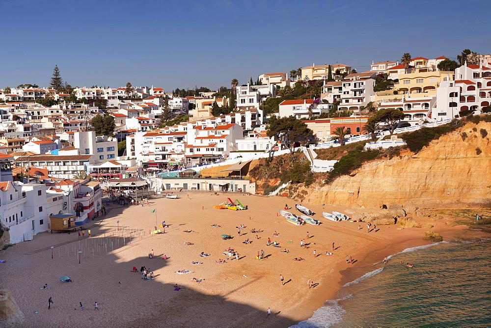 Praia da Carvoeiro beach, Carvoeiro, Algarve, Portugal