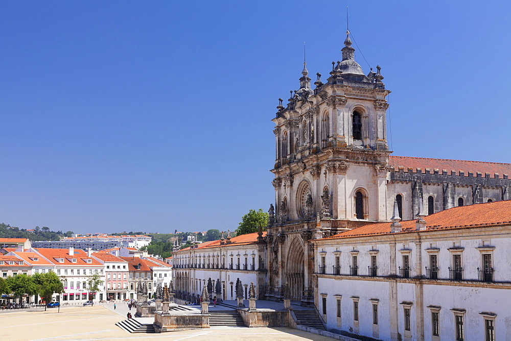 Mosteiro Santa Maria de Alcobaca Monastery, UNESCO World Heritage Site, Alcobaca, Estremadura, Leira, Portugal - 1160-3649