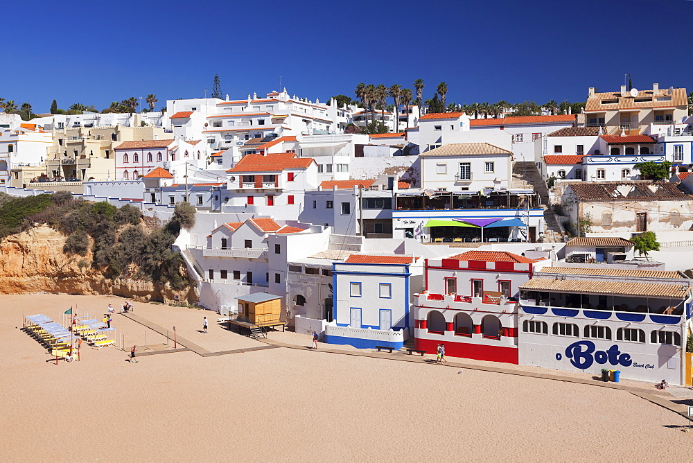 Praia da Carvoeiro beach, Carvoeiro, Algarve, Portugal, Europe - 1160-3669