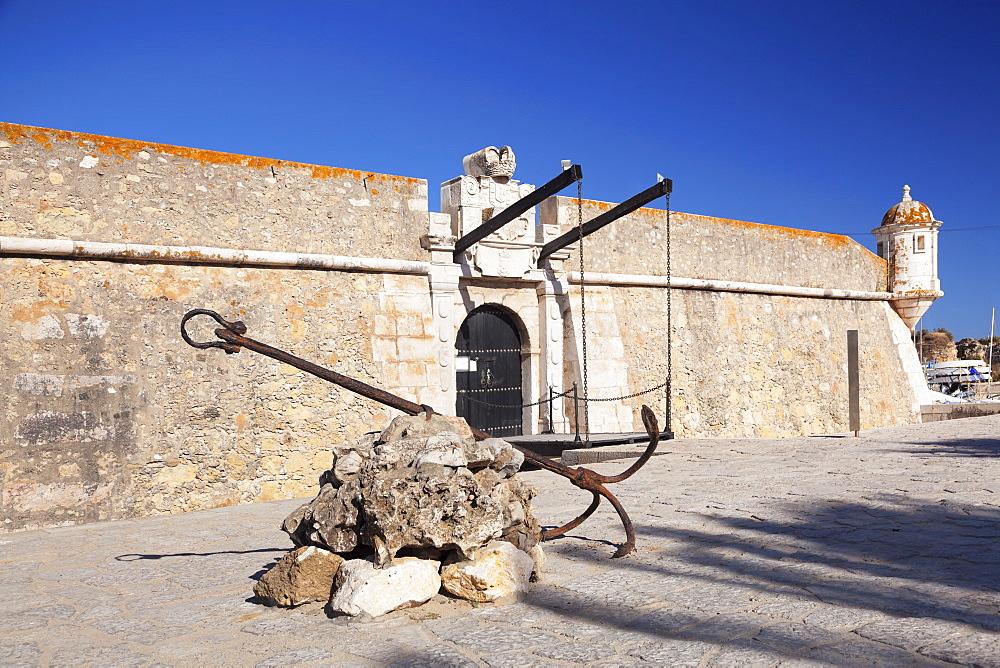 Ponta da Bandeira fortress, Lagos, Algarve, Portugal, Europe - 1160-3673
