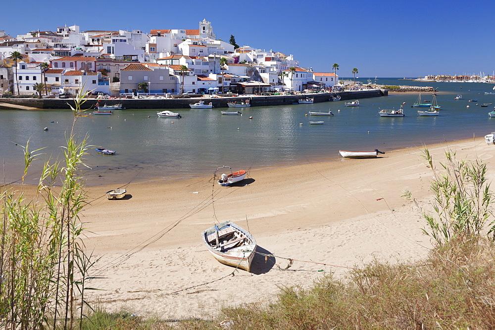 Ferragudo fishing village, near Portimao, Algarve, Portugal, Europe - 1160-3674