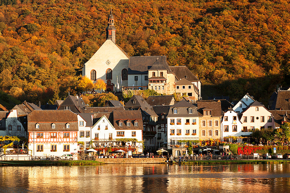 Town of Beilstein on Moselle River, Rhineland-Palatinate, Germany, Europe - 1160-3774