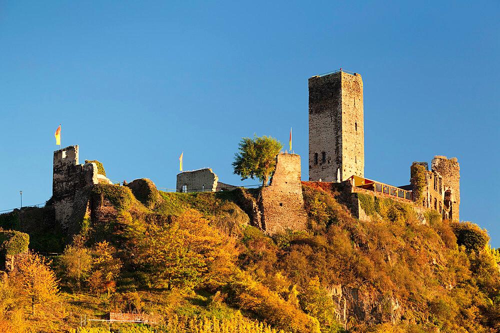 Metternich Castle Ruins, Beilstein, Rhineland-Palatinate, Germany