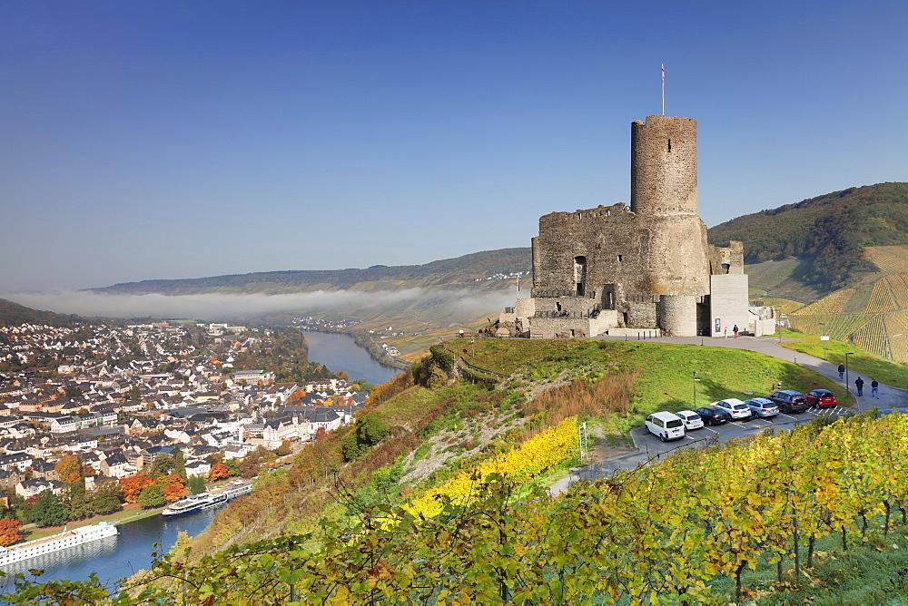 Ruins of Landshut Castle, Moselle Valley, Bernkastel-Kues, Rhineland-Palatinate, Germany, Europe - 1160-3790