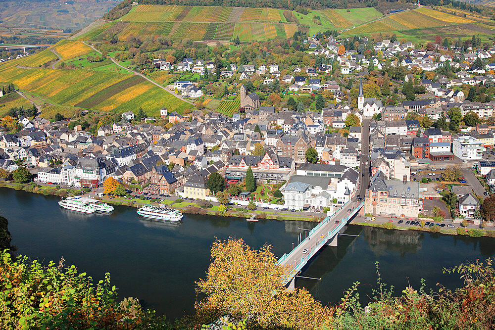 Traben-Trarbach, Moselle Valley, Rhineland-Palatinate, Germany - 1160-3803