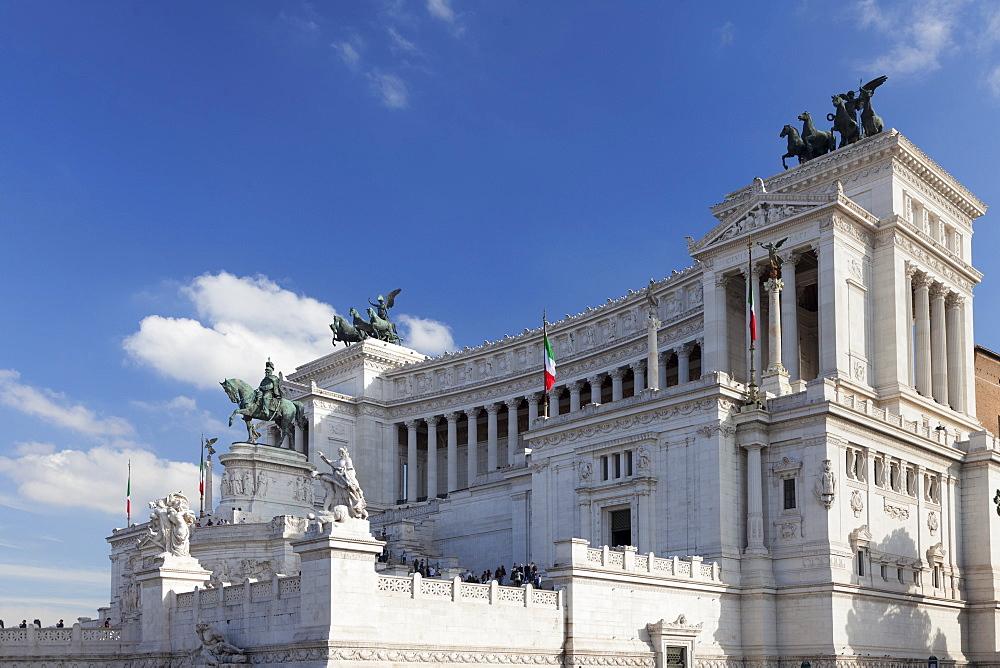 Vittoriano, National Monument Vittorio Emanuel, Piazza Venezia, Rome, Lazio, Italy, Europe - 1160-3860