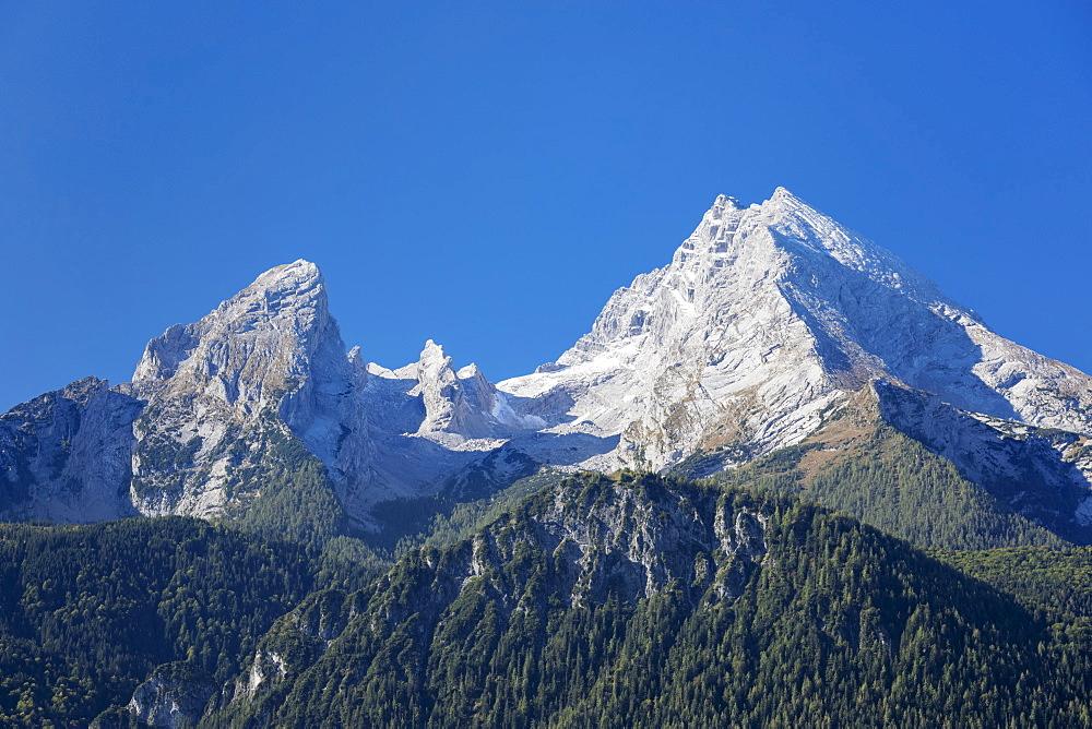 Watzmann Mountain, Berchtesgaden, Upper Bavaria, Bavaria, Germany - 1160-3970