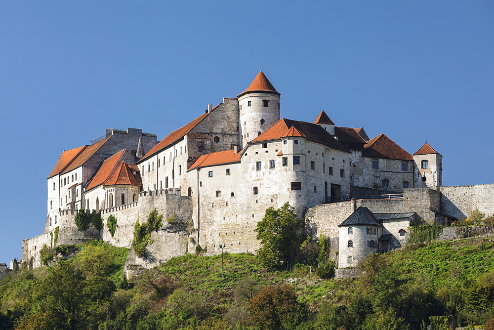 Burghausen Castle, Burghausen, Upper Bavaria, Bavaria, Germany