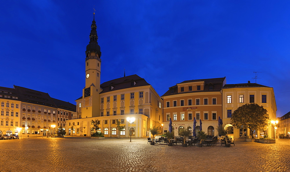 Town Hall at Hauptmarkt Square, Bautzen, Upper Lusatia, Saxony, Germany - 1160-4060