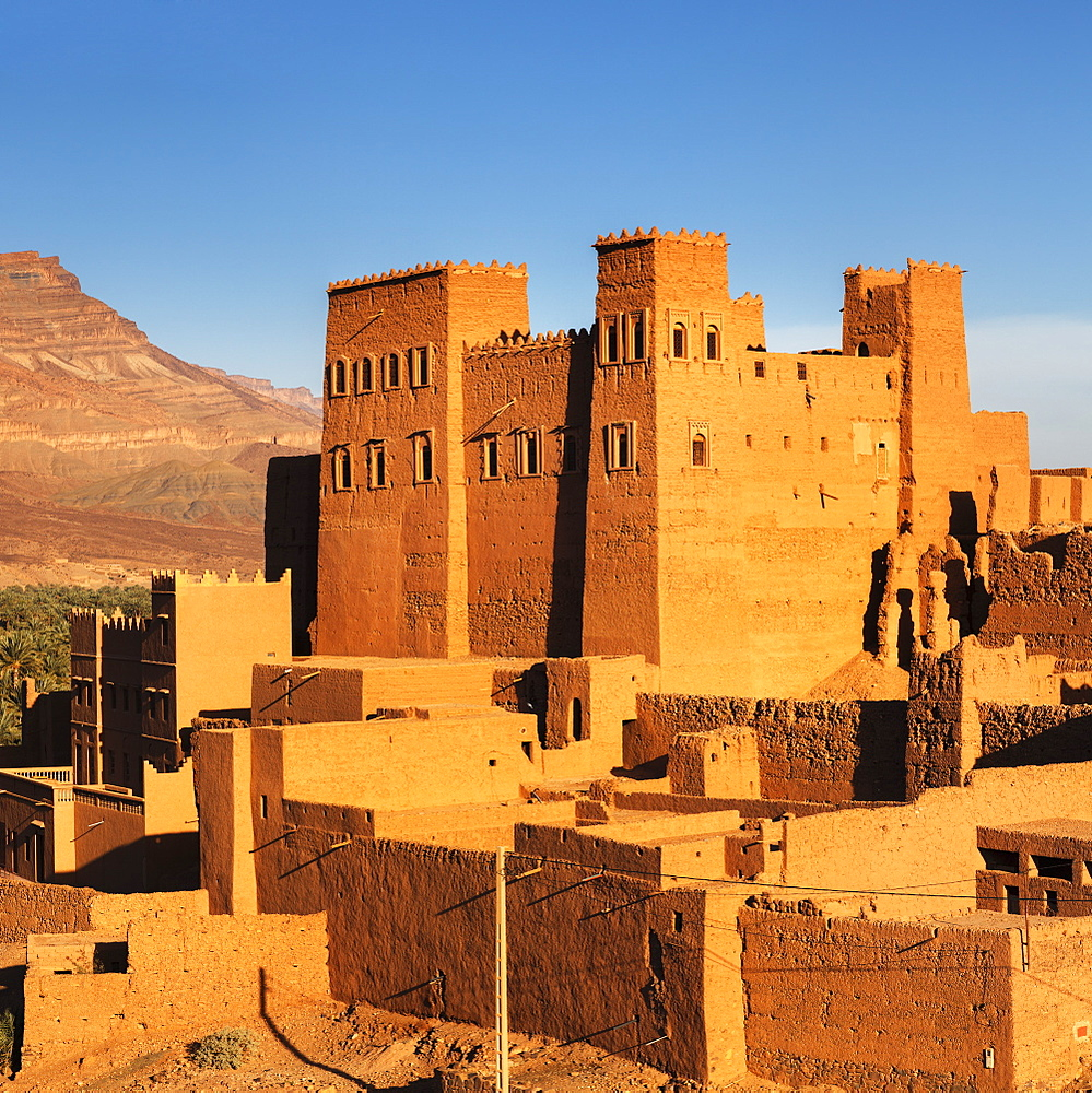 Kasbah Oulad Othmane, Draa Valley, Atlas Mountains, Morocco, North Africa, Africa