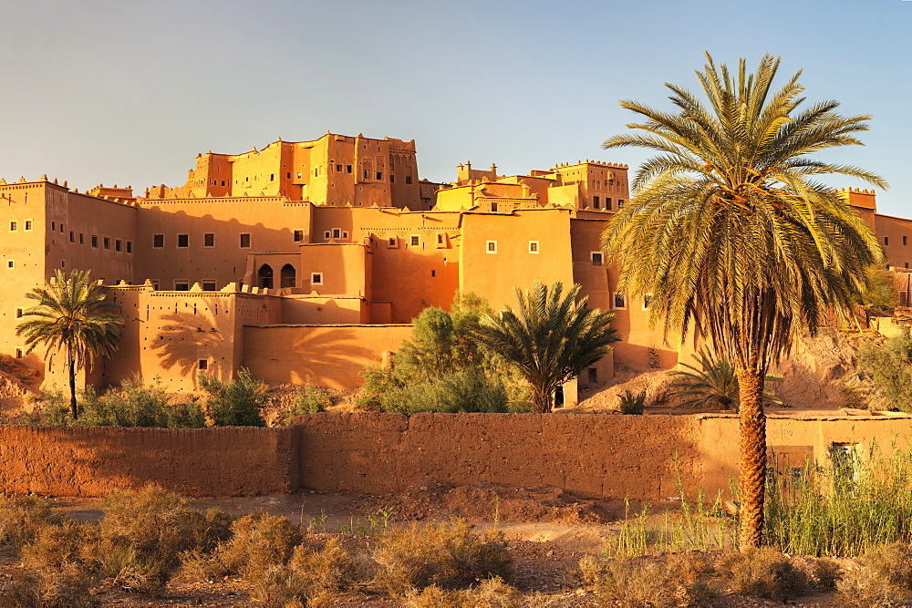 Kasbah Taourirt, Ouarzazate, Road of Kasbahs, Atlas Mountains, Southern Morocco, Morocco, Africa