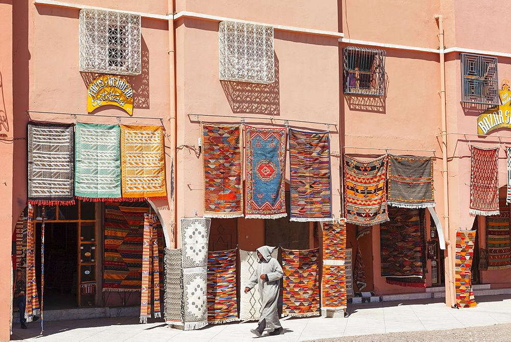 Carpet Shop, Tazenakht, Southern Morocco, Morocco, Africa