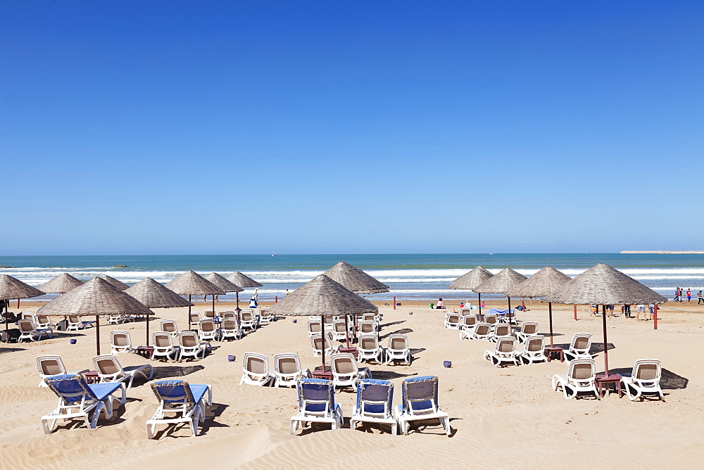 Beach of Agadir, Morocco, North Africa, Africa