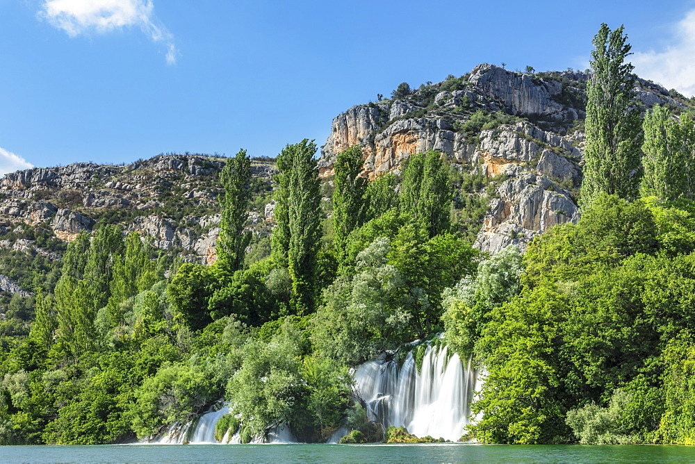 Roski Slap Waterfall, Krka National Park, Dalmatia, Croatia, Europe - 1160-4141
