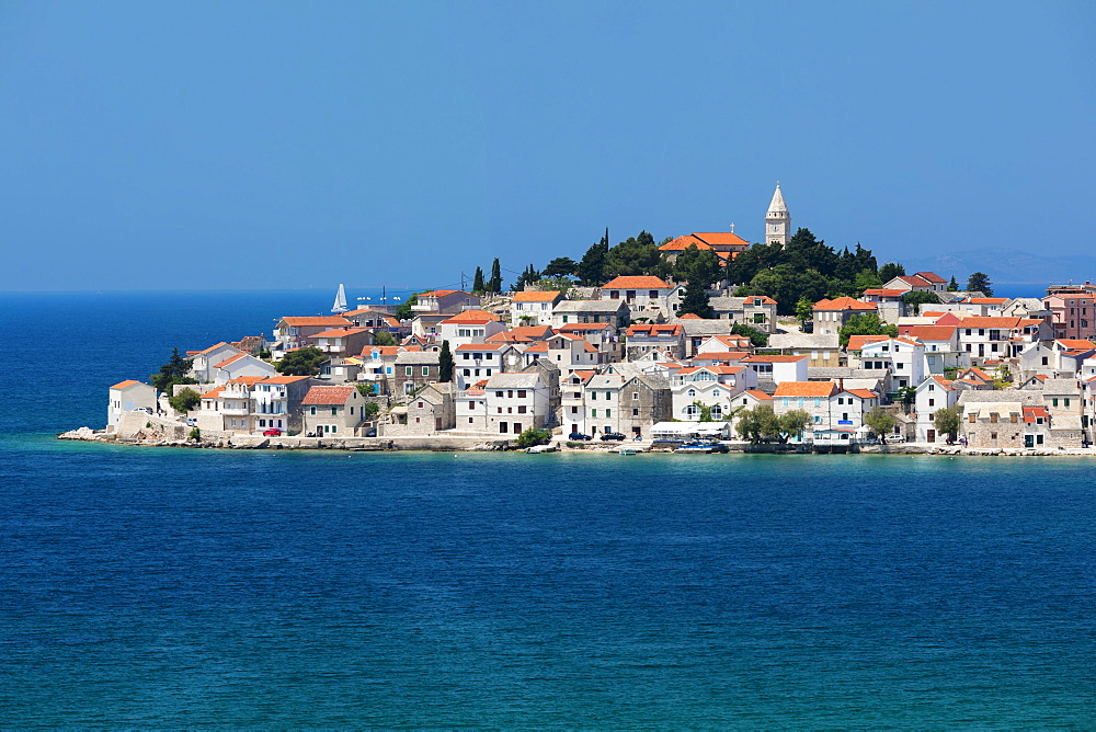 Primosten, Adriatic Coast, Dalmatia, Croatia, Europe