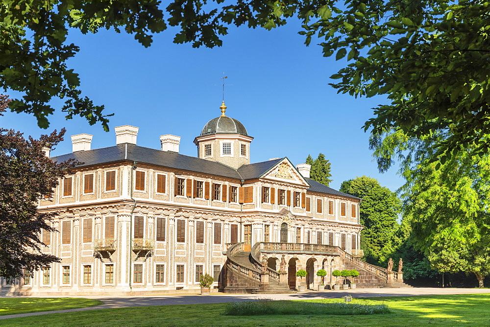 Schloss Favorite castle, Rastatt, Black Forest, Baden-Wuerttemberg, Germany - 1160-4250