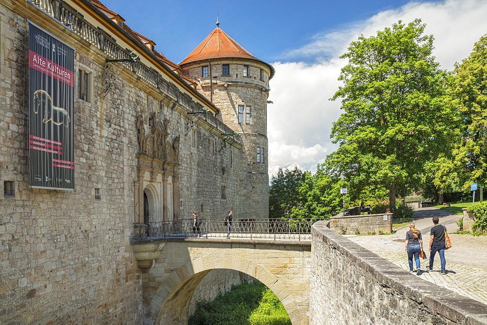 Hohentuebingen Castle, Tuebingen, Baden-Wuerttemberg, Germany - 1160-4299