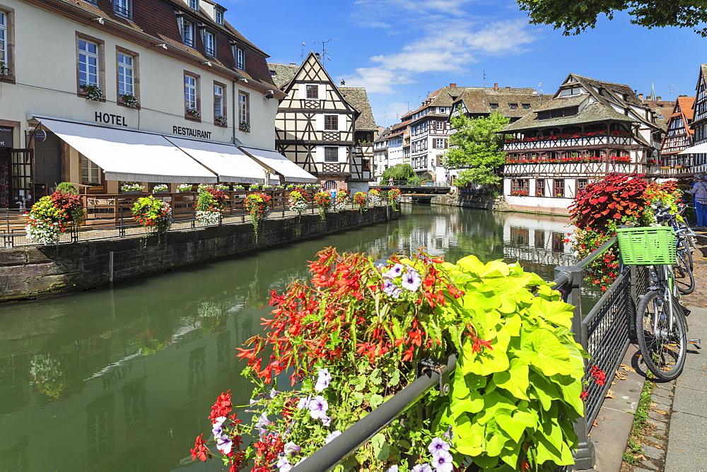 Maison des Tanneurs, La Petite France, UNESCO World Heritage Site, Strasbourg, Alsace, France