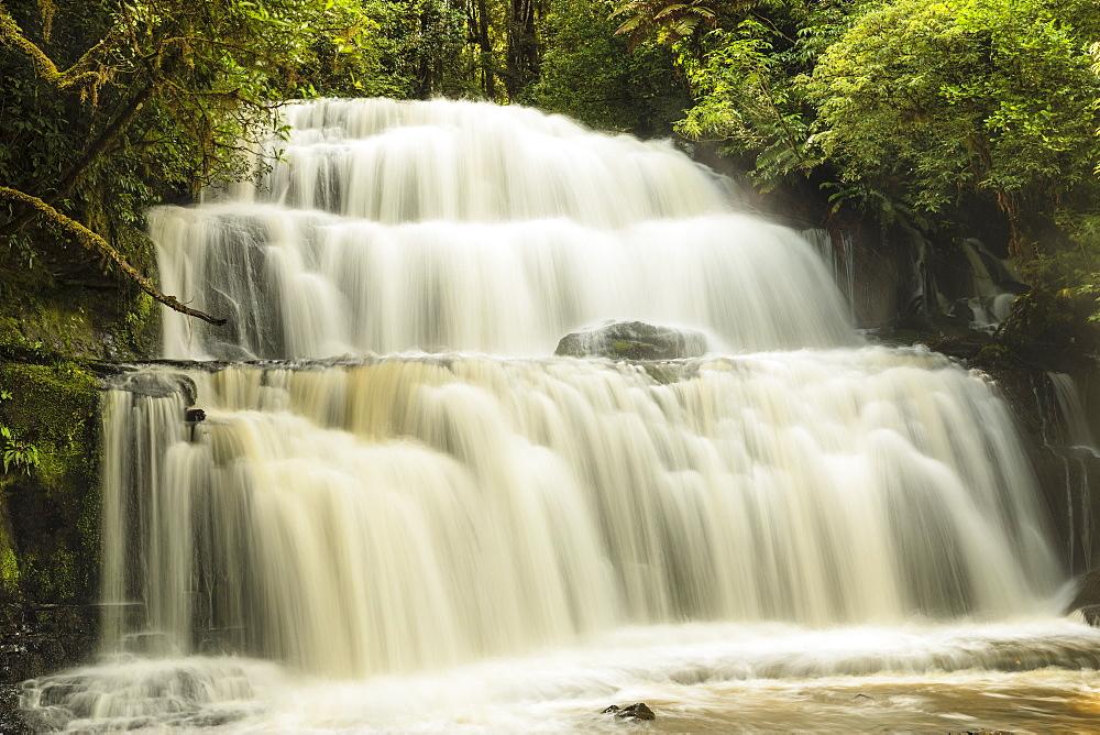 Parakaunui Falls, Catlins, Otago, South Island, New Zealand, Pacific
