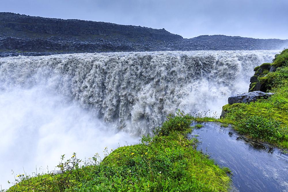 Dettifoss waterfall in Vatnajokull National Park, Iceland, Europe - 1167-2067