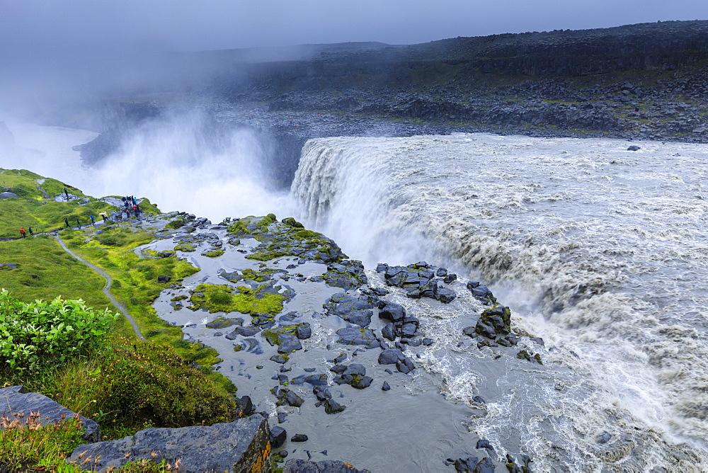 Dettifoss waterfall in Vatnajokull National Park, Iceland, Europe - 1167-2068