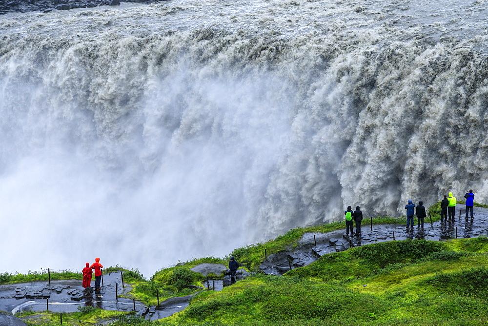 Dettifoss waterfall in Vatnajokull National Park, Iceland, Europe