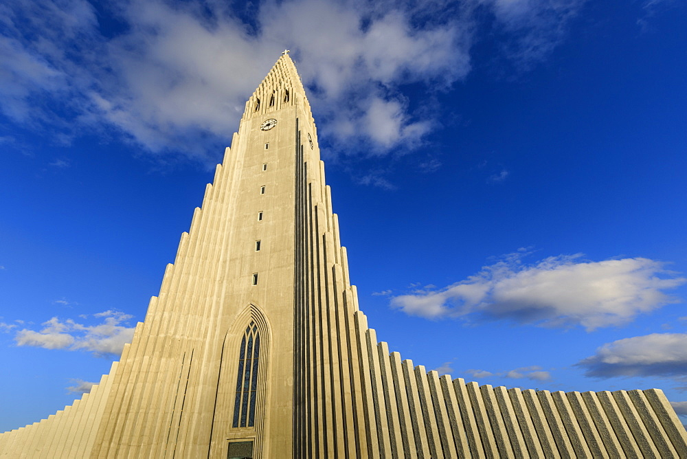 Hallgrimskirkja church in Reykjavik, Iceland, Europe