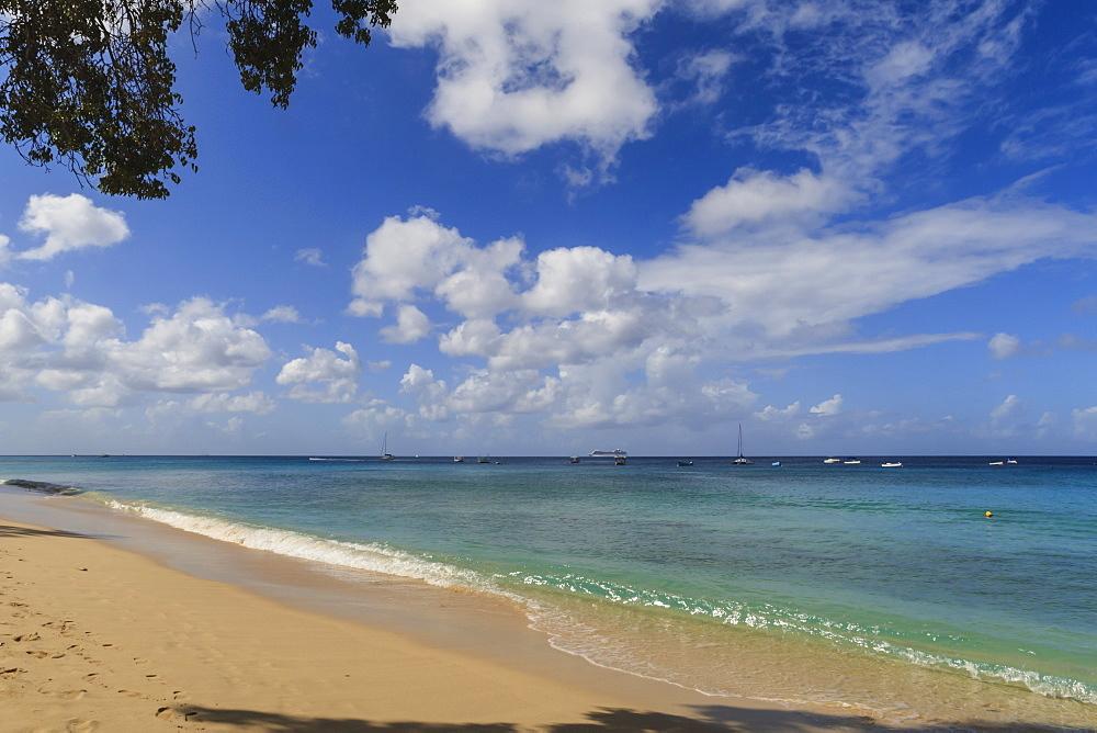 Beach, West Coast, Barbados, West Indies, Caribbean, Central America