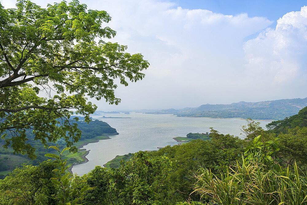 Lake Suchitlan in Suchitoto, El Salvador, Central America - 1176-1018