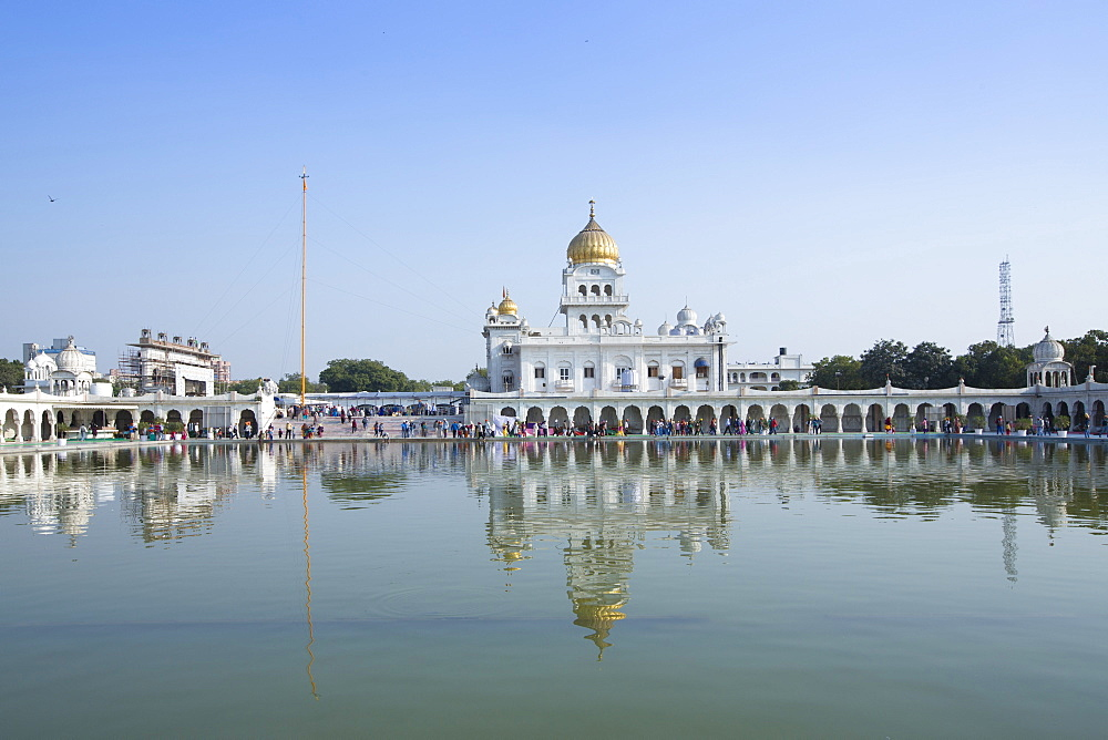 The Gurudwara Bangla Sahib Sikh temple, New Delhi, India, Asia