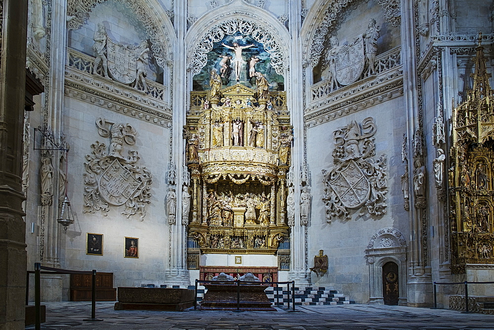 The Chapel of Purification (The Chapel of the Condestables), Burgos Cathedral, UNESCO World Heritage Site, Burgos, Castile and Leon, Spain, Europe