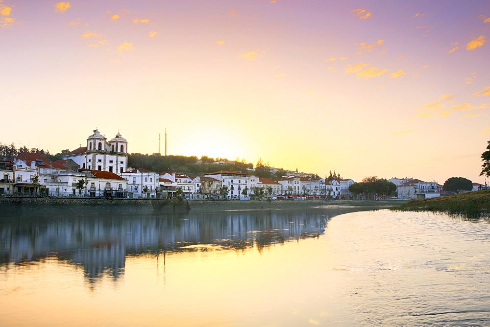 Alcacer do Sal and the Sado River, Alentejo, Portugal, Europe - 1176-756