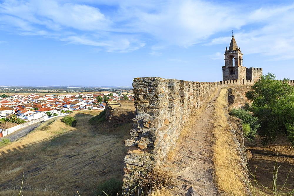 Mourao castle, Alentejo, Portugal, Europe - 1176-763