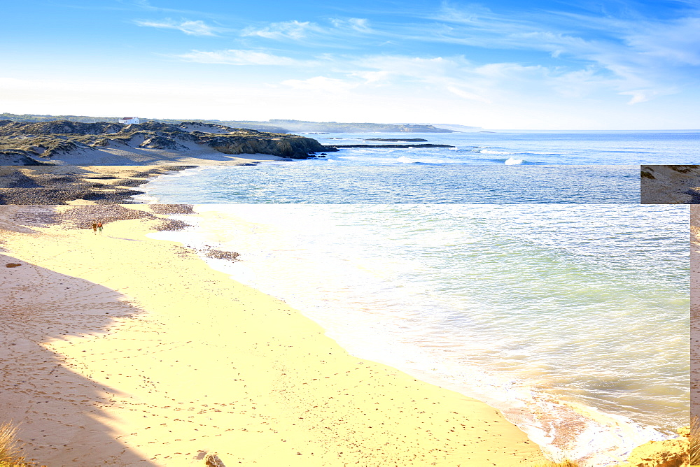 The beach in Vila Nova de Milfontes on the Alentejo coast of Portugal - 1176-881