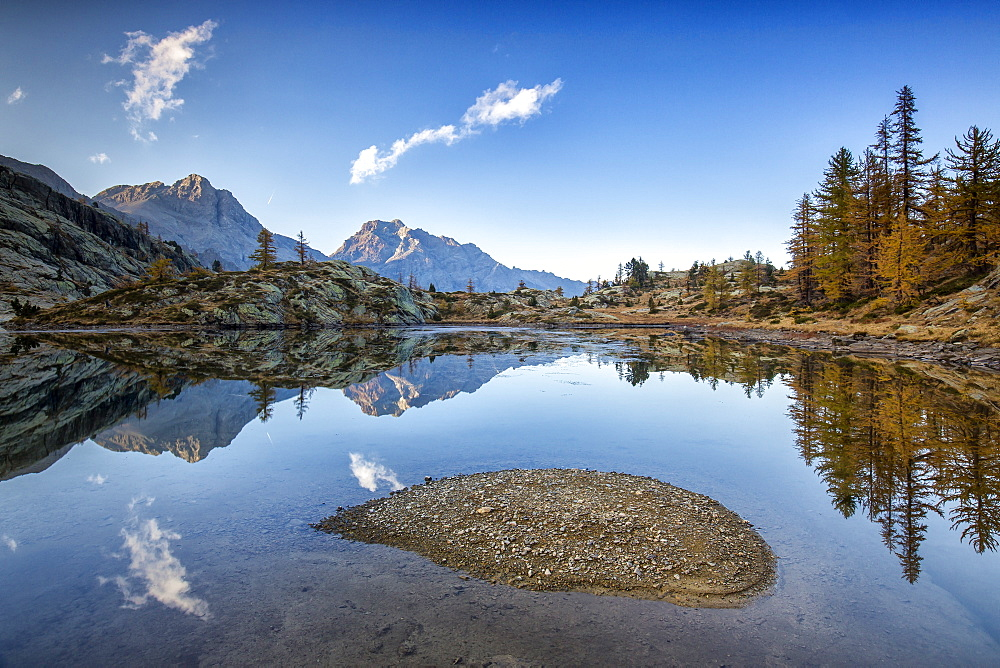 The Mont Avic Natural Park is one of great natural richness, the first regional national park in the Aosta Valley, Italy, Europe